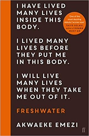 Image result for freshwater akwaeke emezi book cover