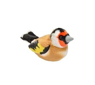 Pluche vogel met geluid - Putter