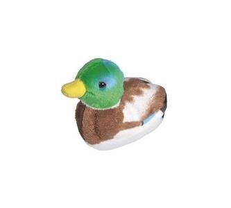 Pluche vogel met geluid - Wilde eend