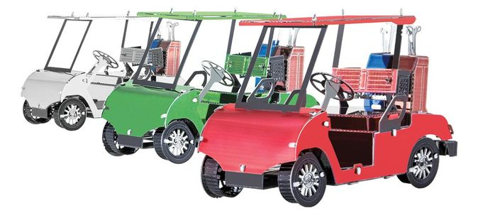 Metalearth Golf Cart 3 Set