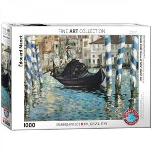 Puzzel Manet - Het Grote Kanaal van Venetië 1000 stukjes