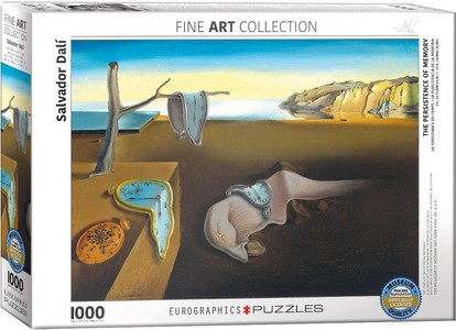 Puzzel the Persistence of Memory 1000 stukjes
