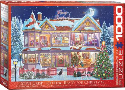 Puzzel Getting Ready for Christmas - Crisp 1000 stukjes