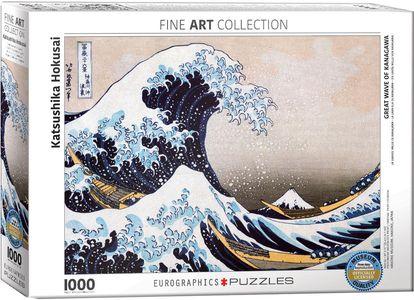 Puzzel Hokusai - the Great Wave of Kanagawa 1000 stukjes