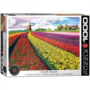 Puzzel Tulip Fields Netherlands 100 stukjes