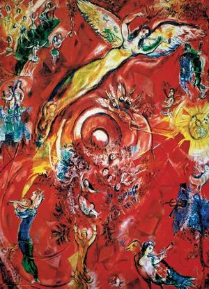 Puzzel Chagall - The Triumph of Music 1000 stukjes