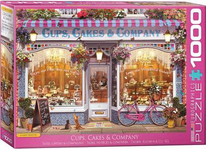 Puzzel Cups, Cakes & Company 1000 stukjes