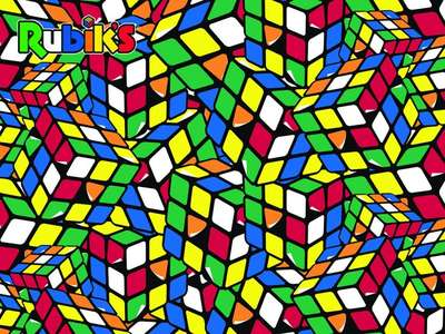 Puzzel 3D Rubiks Geeked 500 stukjes