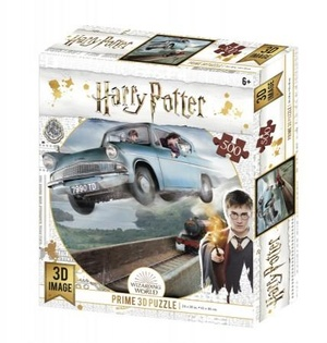 3D Image Puzzel - Harry Potter Ford Anglia 500 stukjes