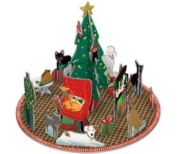 Pop & Slots Fireside Dogs X-Mas Advent Roger de la Borde