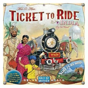 Ticket to Ride India & Switserland