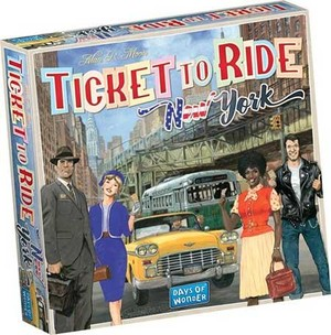 Ticket to Ride New York NL