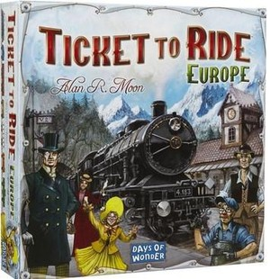 Ticket to Ride Europe - NL versie