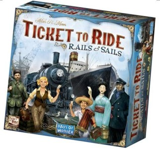 Ticket to Ride - Rails & Sails NL