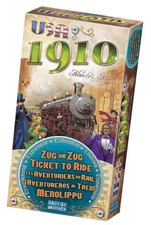 Ticket to Ride USA 1910 Expansion multilingual