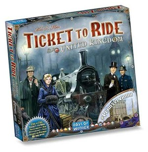 Ticket to Ride UK/Pennsylvania