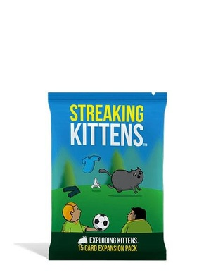 Streaking Kittens - Exploding Kittens expansion 2