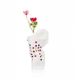 Paper Vase Cover Bauhaus