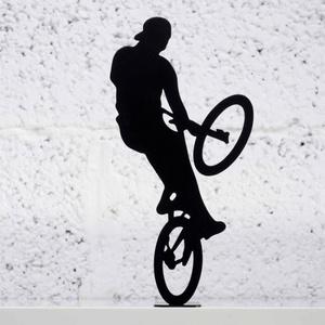 Extreme Bike Rider Metalen Beeld Artori Design