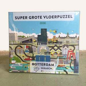 Vloerpuzzel Rotterdam 24 stukjes
