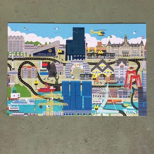 Puzzel Vloerpuzzel Rotterdam 24 stukjes