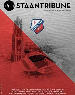 Staantribune 28 - FC Utrecht 50 jaar