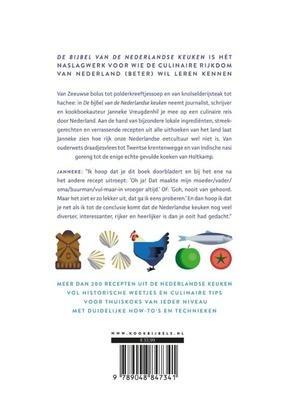 Gesigneerd exemplaar De bijbel van de Nederlandse keuken