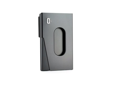 Ögon One Touch Businesscard holder - Black