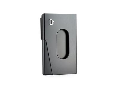 Ögon One Touch Businesscard holder - Black