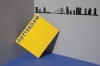 Rotterdam The Line Black / Zwart Small 50 cm