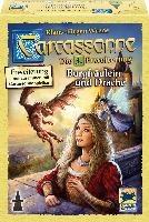 Carcassonne: Burgfräulein und Drache, Erweiterung 3. Neue Edition.