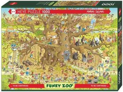 Puzzel Monkey Habitat 1000 stukjes