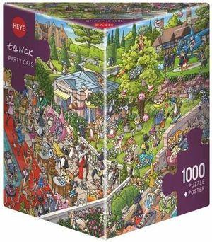Puzzel Party Cats 1000 stukjes