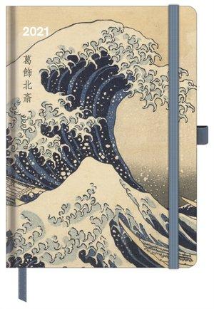 Cool Diary Hokusai Agenda 2021