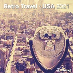 Retro Travel USA Kalender 2021