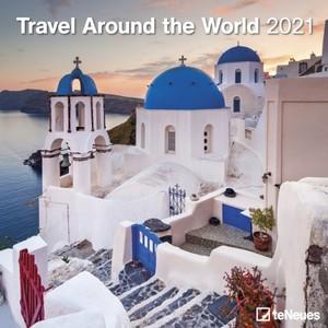 Travel Around the World - Reis rond de Wereld Kalender 2021
