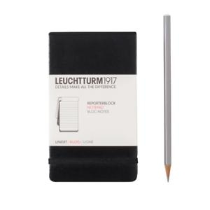 Leuchtturm A6 pocket notepad ruled black