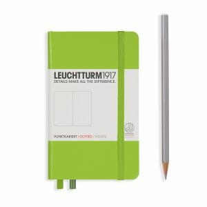 Leuchtturm A6 Pocket Lime Dotted Hardcover Notebook