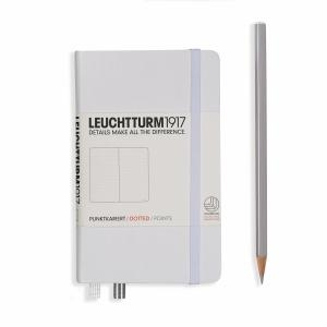Leuchtturm A6 Pocket White Dotted Hardcover Notebook