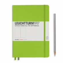 Leuchtturm A5 Medium Lime Plain Hardcover Notebook