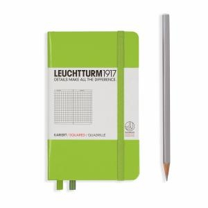 Leuchtturm A6 Pocket Lime Squared Hardcover Notebook