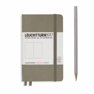 Leuchtturm A6 Pocket Taupe Plain Hardcover Notebook