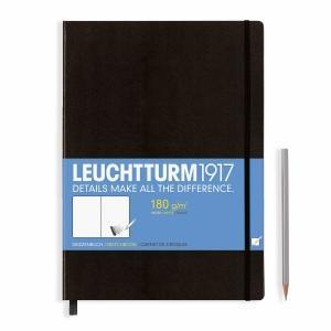 Leuchtturm A4+ Sketch Book Master Black Hardcover