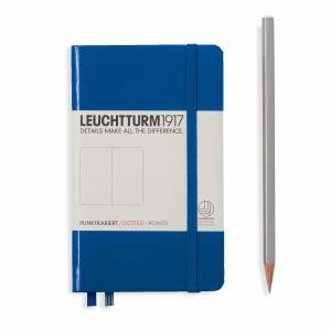 Leuchtturm A6 Pocket Royal Blue Dotted Hardcover Notebook