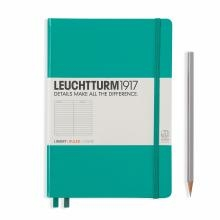 Leuchtturm A5 Medium Emerald Ruled Hardcover Notebook