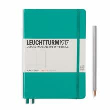 Leuchtturm A5 Medium Emerald Dotted Hardcover Notebook