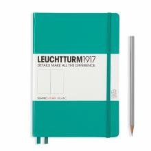 Leuchtturm A5 Medium Emerald Plain Hardcover Notebook