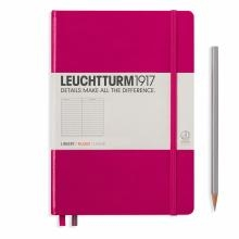 Leuchtturm A5 Medium Berry Ruled Hardcover Notebook