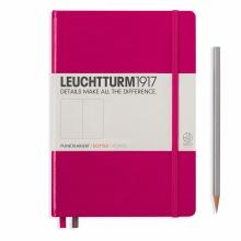 Leuchtturm A5 Medium Berry Dotted Hardcover Notebook