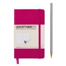 Leuchtturm A6 sketch book berry pocket hardcover